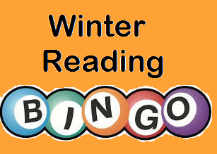 Winter reading bingo