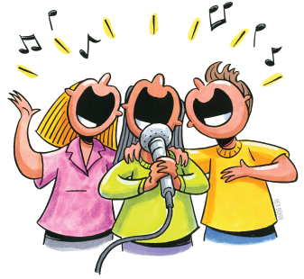 Picture of singers