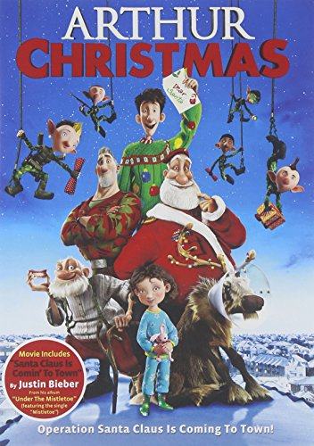 Arthur Christmas cover art