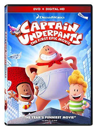 Captain Underpants cover art