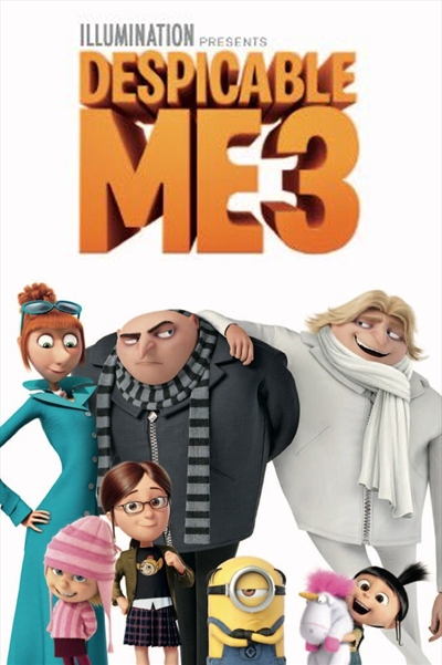 Despicable Me 3 cover art