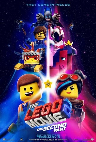 The Lego Movie: The Second Part cover art