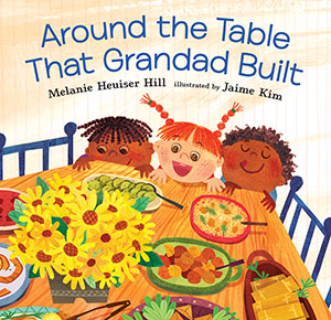 Picture of book cover for Around the Table That Granddad Built
