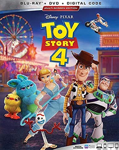Toy Story 4 cover art