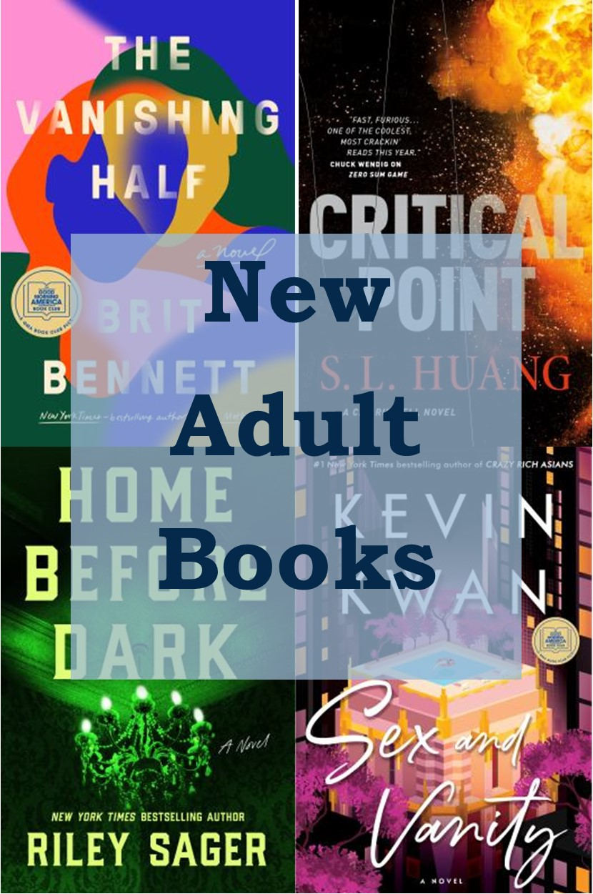 New adult books graphic