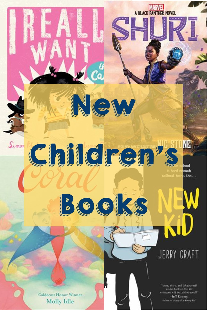 Link New children's books graphic