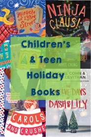 New childrens holiday books graphic