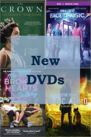 New DVDs graphic