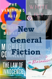 New general fiction books graphic