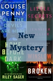 New mystery books graphic