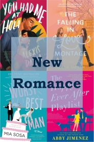 New romance books graphic