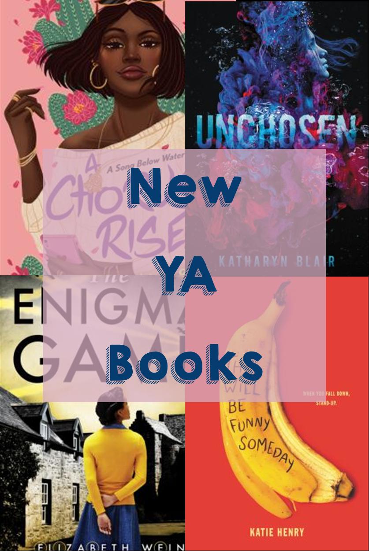 New YA books graphic